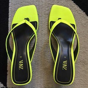 ZARA Heels Sandals